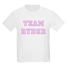 Pink team Ryder Kids T-Shirt