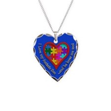 Cool Love autism Necklace