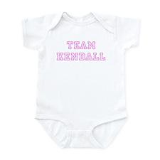 Pink team Kendall Infant Bodysuit