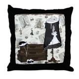 Gatsby In Paris Throw Pillow