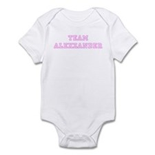 Pink team Alexzander Infant Bodysuit