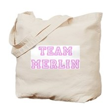 Pink team Merlin Tote Bag