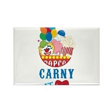 Carny At Heart Rectangle Magnet