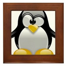 Tux the Penguin Framed Tile