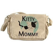 Kitty Mommy Cute Cat Messenger Bag