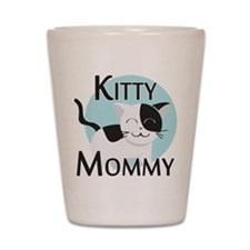 Kitty Mommy Cute Cat Shot Glass