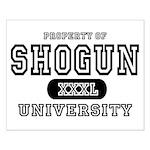 Shogun University Property Small Poster