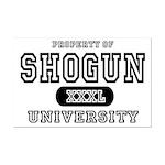Shogun University Property Mini Poster Print