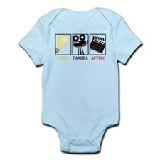 Lights Camera Action Onesie