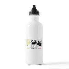 Lights Camera Action Water Bottle