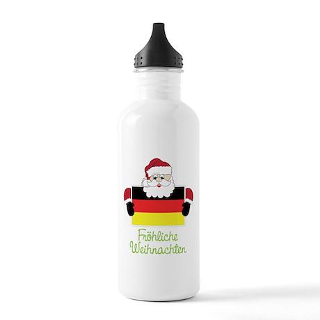 Frohliche Weihnachten Stainless Water Bottle 1.0L