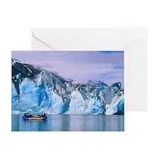 Rafting on Lowell lake, Canada - Greeting Card