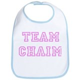 Pink team Chaim Bib