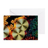 Vitamin C crystals - Greeting Card