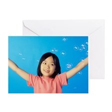 Bubbles - Greeting Card