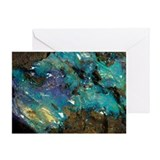 Opal on bedrock - Greeting Card