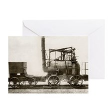 Puffing Billy locomotive - Greeting Card