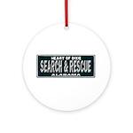 Alabama Search Rescue Ornament (Round)