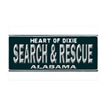 Alabama Search Rescue 35x21 Wall Decal
