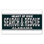 Alabama Search Rescue Sticker (Rectangle)