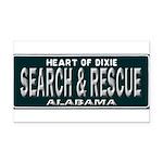 Alabama Search Rescue Rectangle Car Magnet