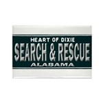 Alabama Search Rescue Rectangle Magnet (100 pack)