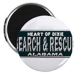 Alabama Search Rescue Magnet