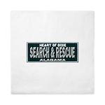 Alabama Search Rescue Queen Duvet