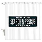 Alabama Search Rescue Shower Curtain
