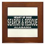 Alabama Search Rescue Framed Tile