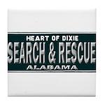 Alabama Search Rescue Tile Coaster