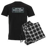 Alabama Search Rescue Men's Dark Pajamas