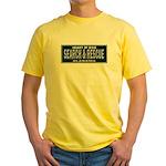Alabama Search Rescue Yellow T-Shirt
