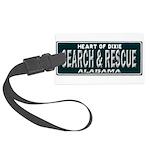 Alabama Search Rescue Large Luggage Tag