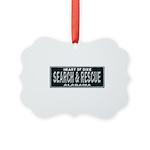 Alabama Search Rescue Picture Ornament
