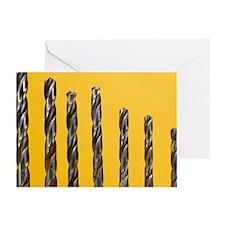 Drill bits - Greeting Card