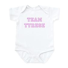 Pink team Tyrese Infant Bodysuit