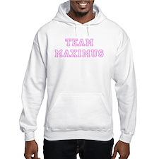 Pink team Maximus Hoodie