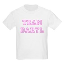 Pink team Daryl Kids T-Shirt