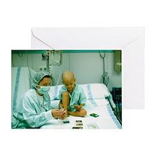 Leukaemia patient - Greeting Card