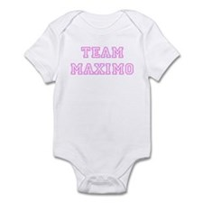 Pink team Maximo Infant Bodysuit