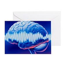 Brainwaves - Greeting Card