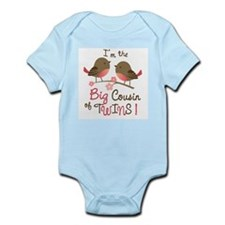 Big Cousin of Twins - Mod Bird Body Suit