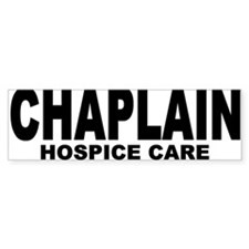 Bumper Bumper Sticker/Hospice Care Bumper Bumper Sticker