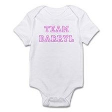Pink team Darryl Infant Bodysuit