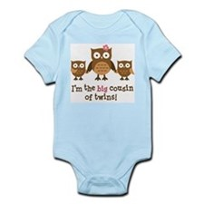 Big Cousin of Twins - Mod Owl Body Suit