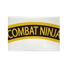 Combat Ninja - 99 Zulu Rectangle Magnet