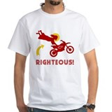 RIGHTEOUS! Jesus Dirtbike T-shirt T-Shirt