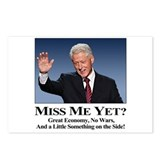 Bill Clinton: Miss Me Yet? Postcards (Package of 8