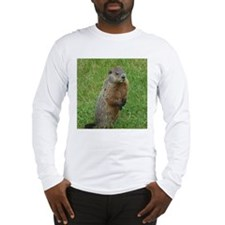 Groundhog eating Long Sleeve T-Shirt
